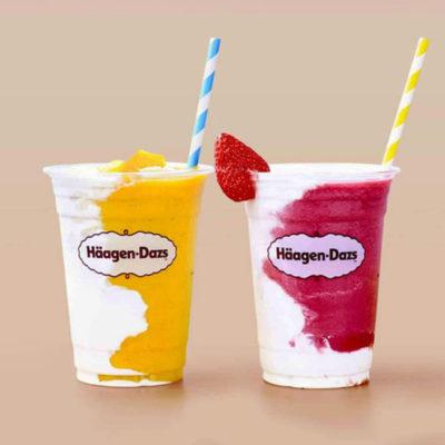 vegan hagen dasz milkshakes