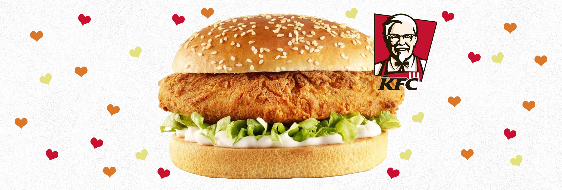 vegan kfc imposter burger